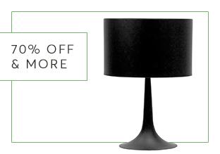 70 % di Sconto & More : Illuminazione!