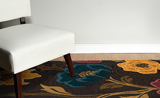 Rug Collection: Transitional Florals!