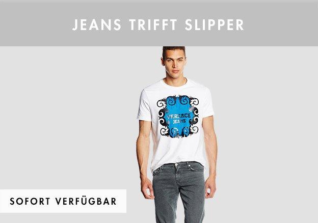 Jeans trifft Slipper bis zu -80%!