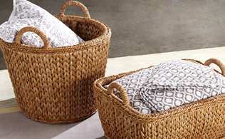Up To 80% Decorative Baskets