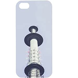 Casotec Funkturm Berlin Design Hard Back Case Cover for Apple iPhone 5 / 5S