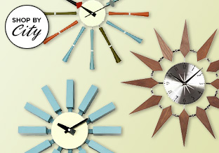 Mod Time: Mid-Century Inspired Clocks!
