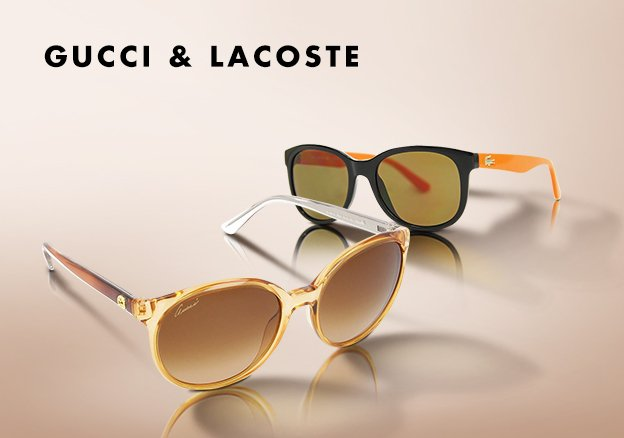 Gucci & Lacoste