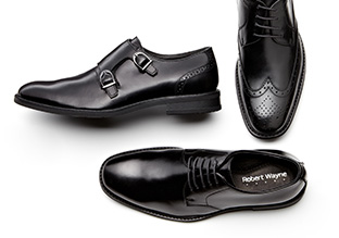 Up to 70% Off: Black Dress Shoes