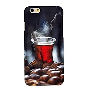 Clapcart Coffee Printed Mobile Back Cover for Apple iPhone 6 / 6S -Multicolor