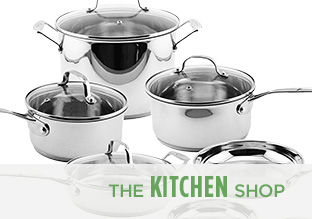 The Kitchen Shop: Stainless Steel!