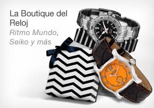La boutique del reloj: Ritmo Mundo, Seiko y Más