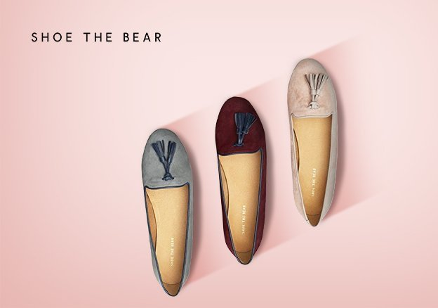 Shoe the bear