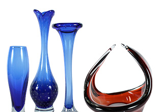 Vintage Art Glass!