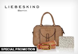 Liebeskind: Bags & Accessories -15% ab 3 Artikel