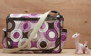Chic Diaper Bags: Coach, Petunia Pickle Bottom, Perry Mackin and more!