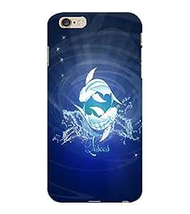 ColourCraft Zodiac Pisces Design Back Case Cover for APPLE IPHONE 6S PLUS