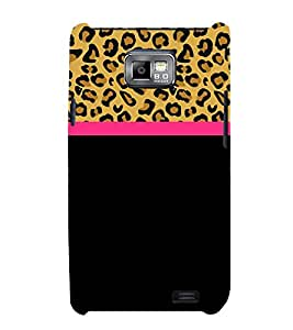 Leopard Pattern Wallpaper 3D Hard Polycarbonate Designer Back Case Cover for Samsung Galaxy S2 :: Samsung Galaxy S2 i9100