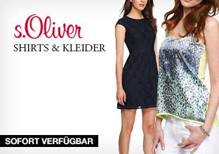 s.Oliver: Shirts & Kleider