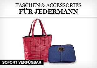 Taschen & Accessories für Jedermann