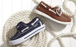 Spring Forward: Boys' & Girls' Footwear