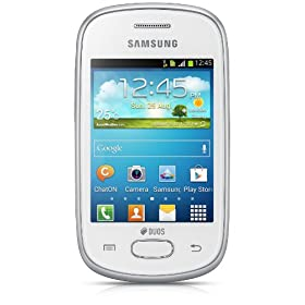 Samsung Galaxy Star GT S5282 (Ceramic White) Samsung Galaxy Star GT S5282 (Ceramic White) available at Amazon for Rs.4476