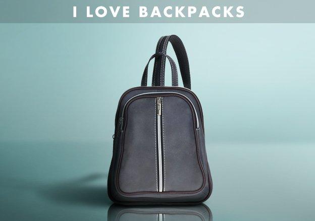 I Love backpacks