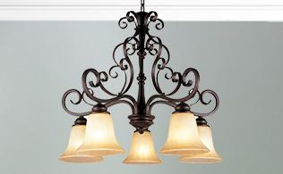 Transitional Flourishes: Lighting & Furniture!
