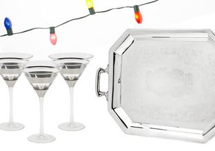 Silver Bells: Drinkware & Serveware!