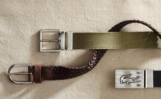 Lacoste Belts!