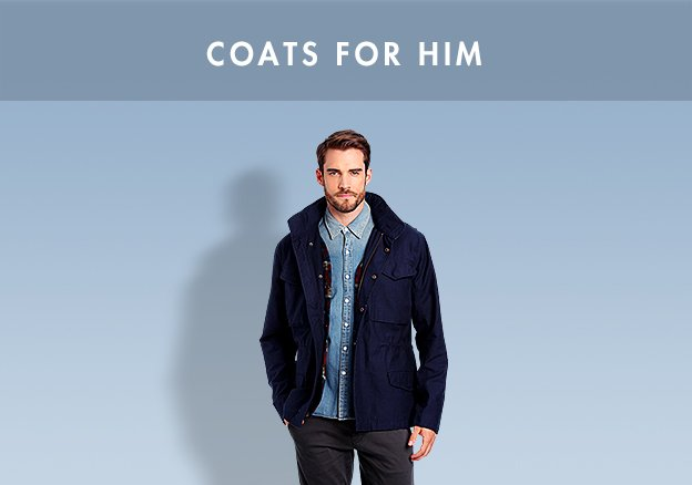 Coats for him