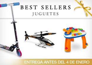 Best Sellers: Juguetes