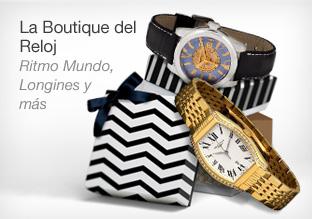 La boutique del reloj: Ritmo Mundo, Longines y Más