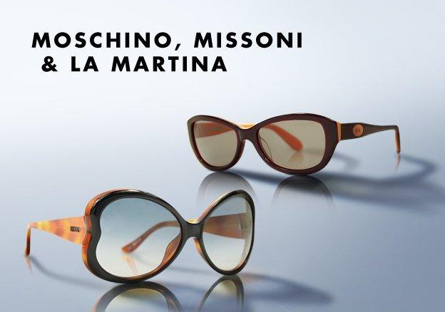 Moschino, Missoni & La Martina