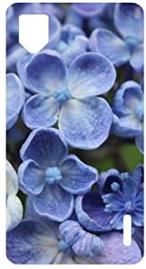 YourStyleCreations Hydrangea Blue Flowers Back Cover Case For LG Optimus G E975 (Blue)