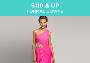 $119 & Up: Formal Gowns