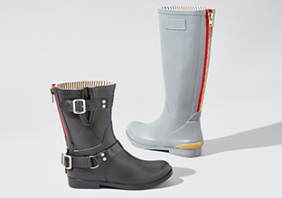 April Showers : rainboots!