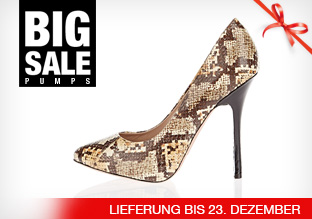 Big Sale: Pumps