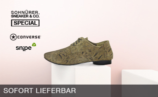 Schnürer, Sneaker & Co. Special