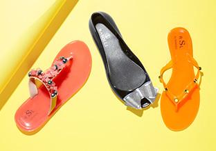 APPENA 25 dollari : RSL sandali della gelatina e APPARTAMENTI!