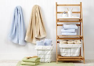 Bath Redux: Towels, Baskets & More!
