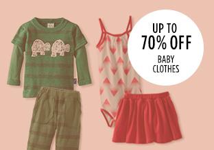 Hasta el 70% de descuento: Baby Clothes