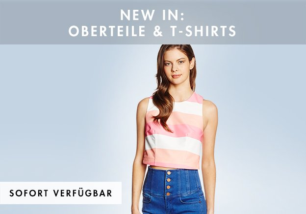 New In: Oberteile & T-Shirts bis zu -79%