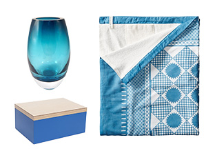 Hues of Blue: Accents, Bath & Décor!