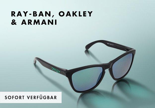 Ray-Ban, Oakley & Armani