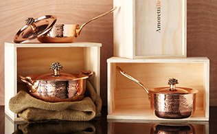 Luxury Copper Cookware!