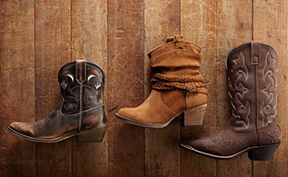 Music Festival Chic: Rugged Boots!