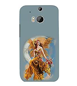 printtech Beautiful Fantasy Girl Back Case Cover for HTC One M9::HTC M9::HTC One Hima
