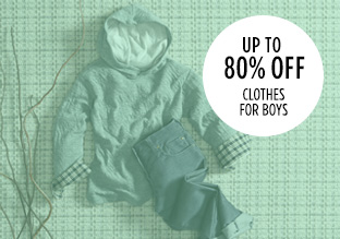 Up to 80% Off: Clothes for Boys