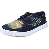 Red Rose Men's Blue Casual Shoes - 8