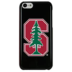 NCAA Stanford Cardinal Case for iPhone 5C, One Size, Black