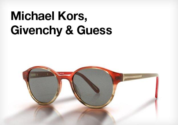 Michael Kors, Givenchy & Guess