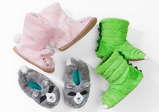 Sleepover Fun: Slippers, Sleeping Bags & More