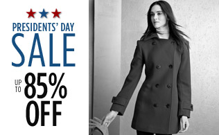 Up to 85%: Off Coats, Jackets & More!