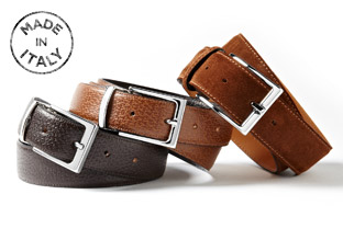 Made in Italy: Belts & Wallets!